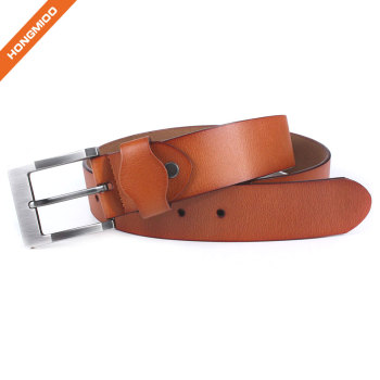 Hongmioo HT-011 Light Brown Full Grain Leather Heavy Duty Belt