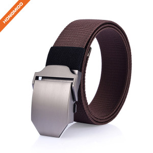 Perfect Fit Comfort Tactical Belt Nylon Leather Utility Men