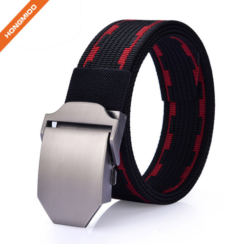 Perfect Fit Comfort Tactical Belt Nylon Leather Utility Men