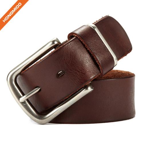 Hongmioo TB1728 Leisure Style Belt Wholesale Full Grain Leather Belts