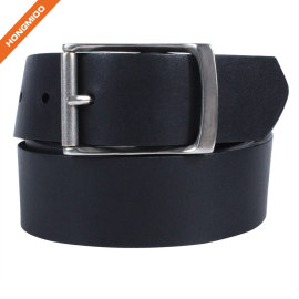 Hongmioo HT033 Wholesale Top Quality Zinc Alloy Buckle Styles Full Grain Belt for Men
