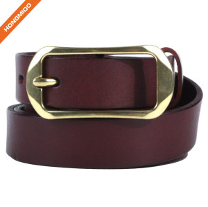 Hongmioo HT038 Wholesale High Quality New Style Vintage Full Grain Belt