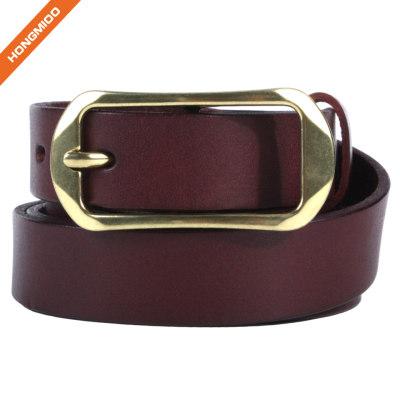 Hongmioo HT038 Wholesale High Quality New Style Vintage Full Grain Belt