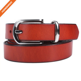 Hongmioo HT041 Wholesale High Quality New Style Classic Full Grain Genuine Leather Belt for Both Men and Male