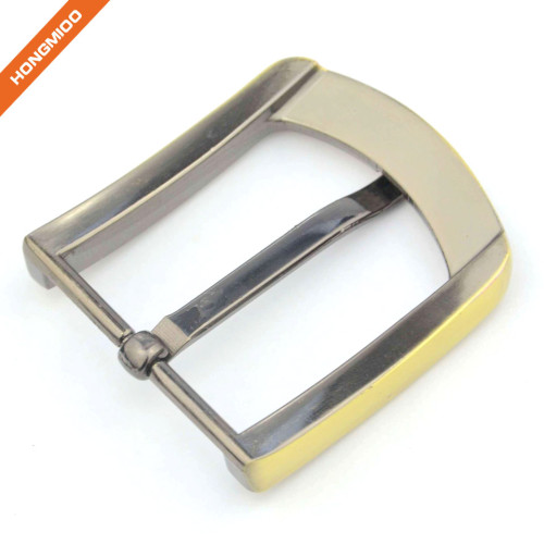 Customized High quality Men Simple Pin Metal Belt Buckle
