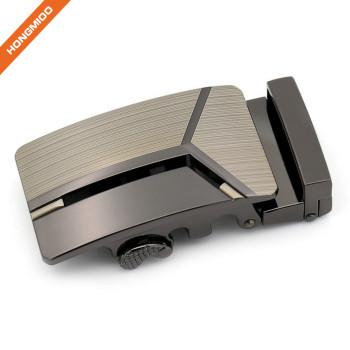 Men's Fashion Removable Metal Ratchet Belt Buckles with Magnet