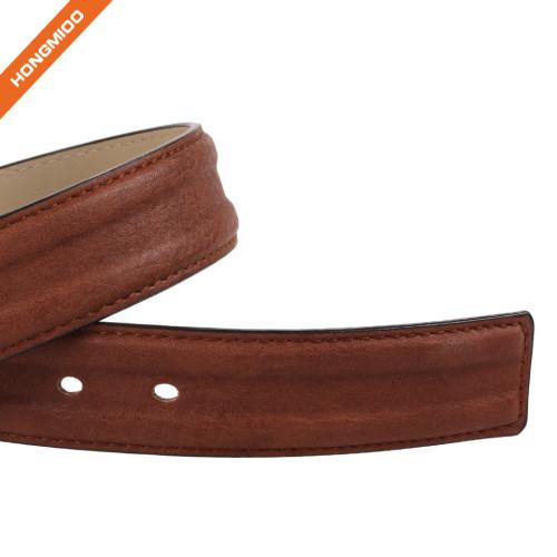 Men's Embossed Belt Genuine Leather Reversible 1.4