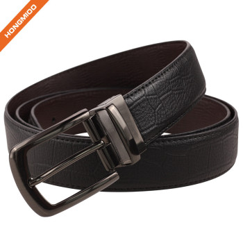 Business Style Reversible Genuine Leather Belts for Pants 1.4