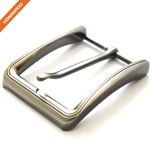 Classic Simple Custom Adjustable Metal Pin Buckle for Belt