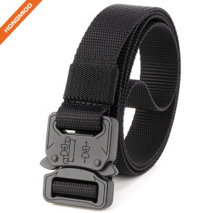 Wholesale Best Military Style Fabric Belts With Cobra Buckle