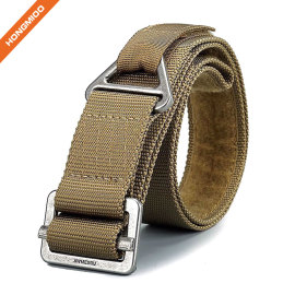 Tactical Duty Metal Buckle Nylon Belt Fabric For Sale