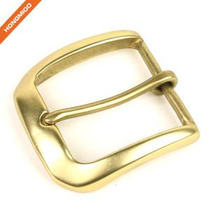Wholesaler Light Gold Pin Belt Buckle Metal Bridle Buckle