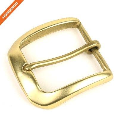 Wholesaler Light Gold Pin Belt Buckle Metal Bridle Buckle