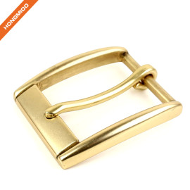 Simple Design Customized High Quality Men Pin Metal Belt Buckle