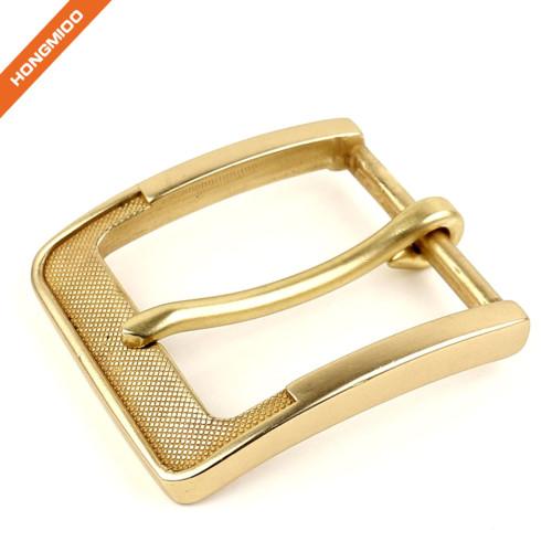 Simple Design Customized High Quality Men Pin Metal Belt Buckle