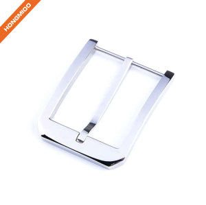 Blank Silver Plated Metal Alloy Pin Belt Buckle