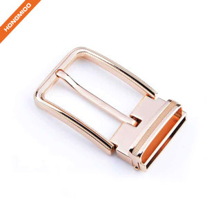 Hot Sale Fashion Rose Gold Pin Clip Belt Buckle