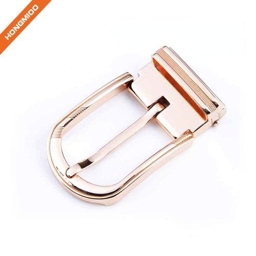 Hot Sale Fashion Rose Gold Pin Clip Belt Buckle