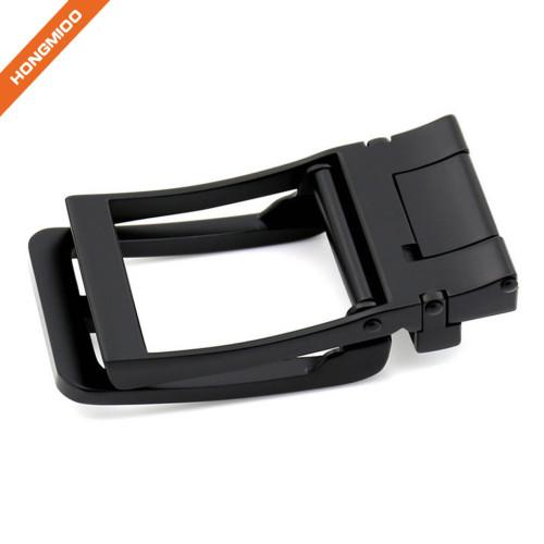Dark Hollow Out Removable Ratchet Belt Buckle