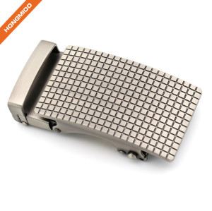 Small Square Design Custom Color Men's Ratchet Belt Buckle
