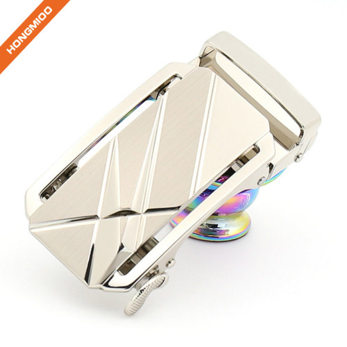 Fashion Designer Custom Color Men's Spring Ratchet Buckle