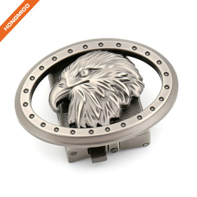 Fashion Eagle Designer Men's Ratchet Belt Buckle