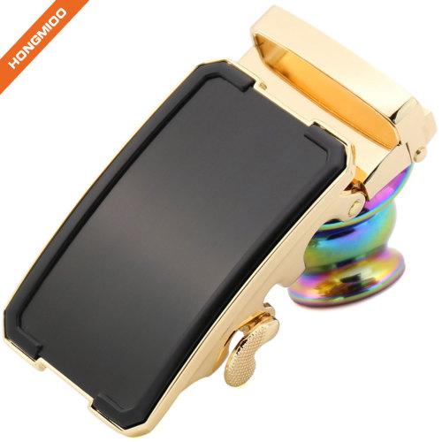 Covered Golden Magnetic Ratchet Belt Buckle