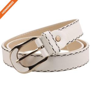 Hongmioo Men's Fashion Genuine Leather Belt Waist Band Strap Pin Buckle Belts