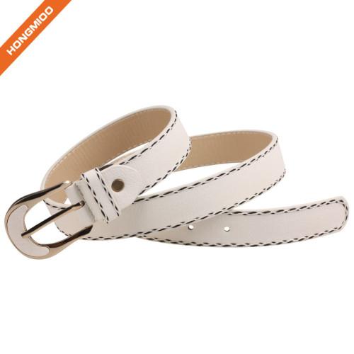 Hongmioo Men's Fashion Pu Leather Belt Waist Band Strap Pin Buckle Belts