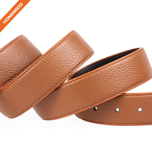 Plate Buckle Leather Belt Personality Classic Head Leather Belt Gift Choice