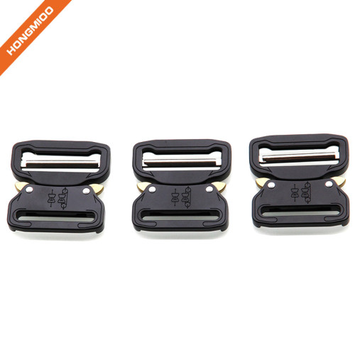 China Supplier Custom Metal Alloy Tactical Buckle For Men