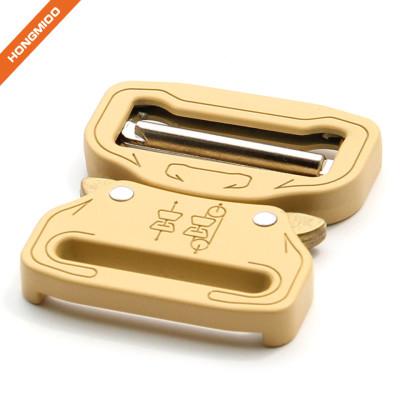 Solid Color Heavy Duty Italian Brass Alloy Belt Buckle