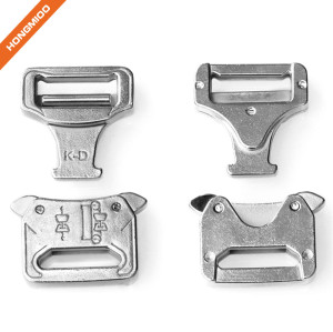 Italy Design 1 Inch Sliver Metal Belt Buckles For Male And Female
