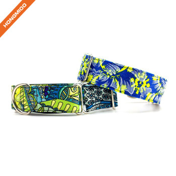 Custom Color Heart Transfer Printing Microfiber Dog Collar