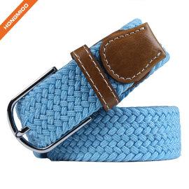 2018 Handmade Women Elastic Split Leather Belt From China