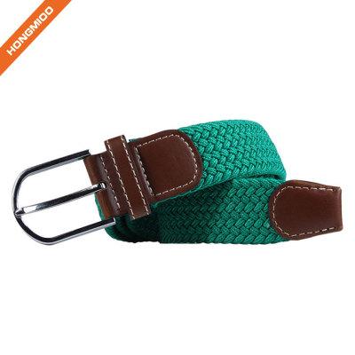 Simple Design Single Pin Buckle Polyester Belt For Men