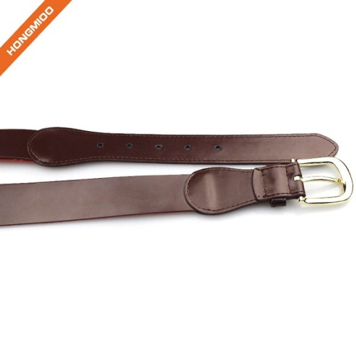 Italy Cowhide Genuine Leather Mens Wide Belts Embroidery Tall Size Waistbelt