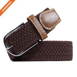 Factory Deirect Sales Fashion Brown Color Custom Men Belt