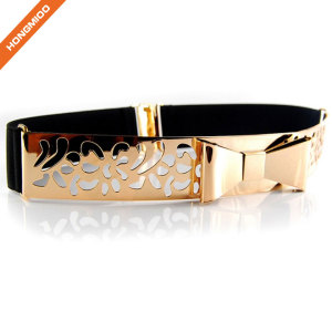 Hongmioo Leisure Thin Stretch Butterfly Skinny Belt