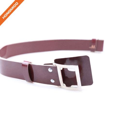 Small Size Boy Metal Buckle PU Belt For Dress