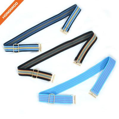 Elastic Boy Assorted Color Belt With Metal Clip