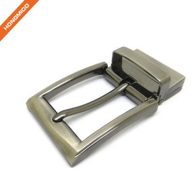 Zinc Alloy Mens Belt Buckles 3.5cm Rotate Double Use Buckle