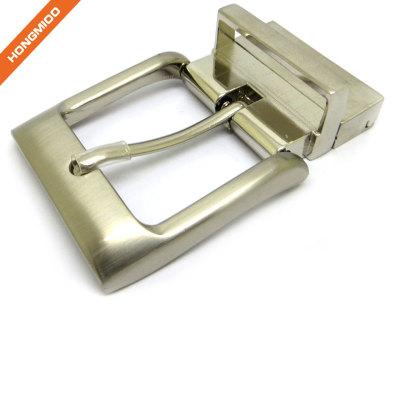 Short Design Buckles 3.5cm Wide Belts Buckle Multiple Uses Reversible Alloy Buckles