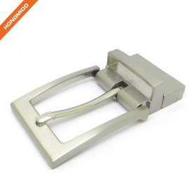 3.5cm Wide Reversible Clamp Two Tone Belt Buckle