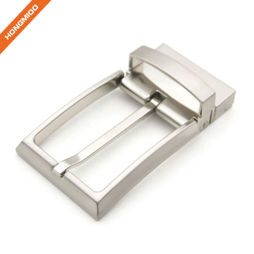 Men Nickel Free Single Prong Square 1.4'' Belt Replacement Rotated Buckle