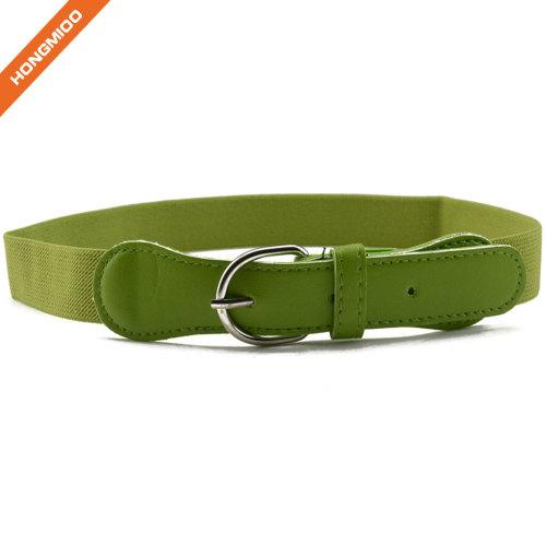 Factory Direct Sale Black Boy Pin Buckle Kids Belt