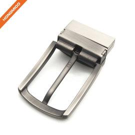 Single Prong Square 1.4'' Belt Reversible Mens Belt Buckle
