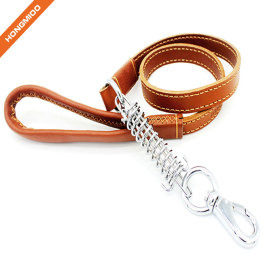 Luxury Leather Multiple Color Dog Leash