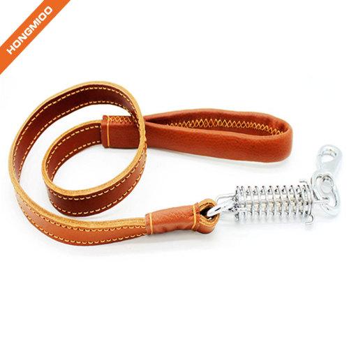 Luxury Leather Multiple Color Dog Leash