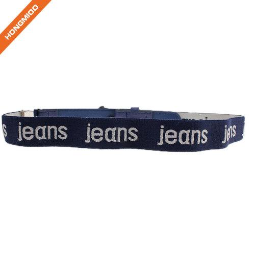 Assorted Color Adjustable Stretch Leather Loop Belt